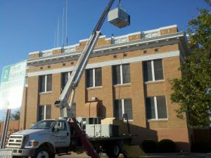 Graham County Court House Install
