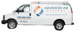 Advanced Air Systems has trucks ready for your Ductless Heat Pump installation in Pima AZ.